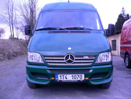 Mercedes Sprinter do roku 2006